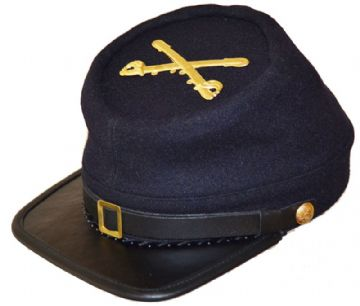 Union Cavalry Blue Kepi With Badge